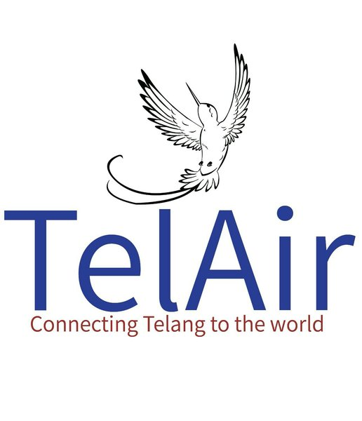 The current logo of TelAir.The bird,believed to be a Bird of Paradise,is present on every of TelAir's aircrafts.
