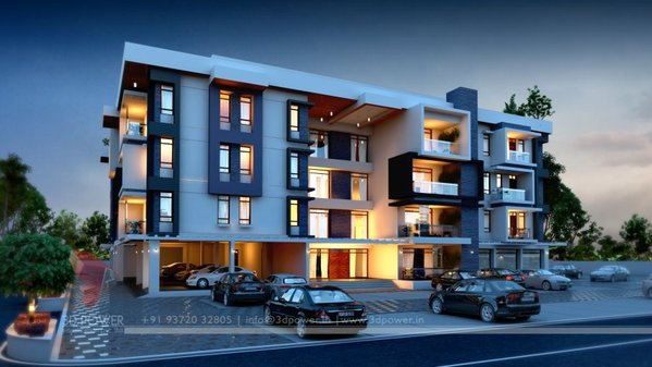 3D Night View Apartment Visualization.jpg