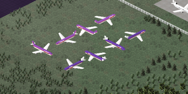 Here's a picture of the Planes