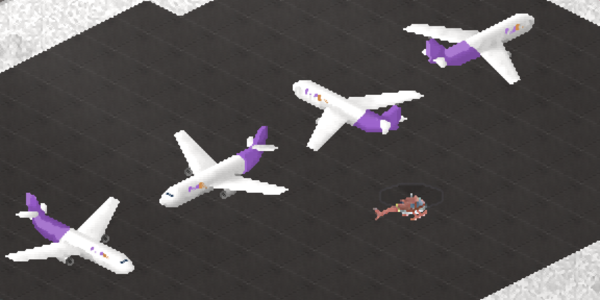 Here is a picture of the  planes