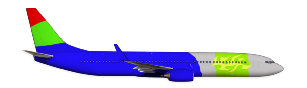 Boeing 737-900ER with our livery.