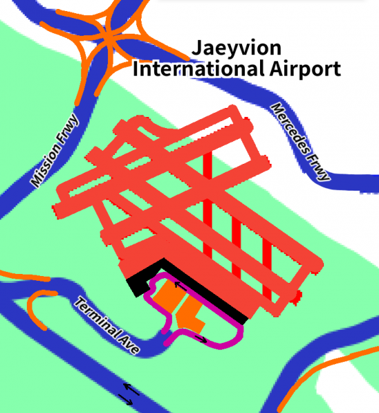 Jaeyvion International Airport