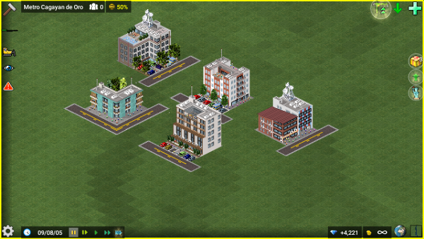 This is the package. Consists of mid-rise buildings and you can place them anywhere you like!