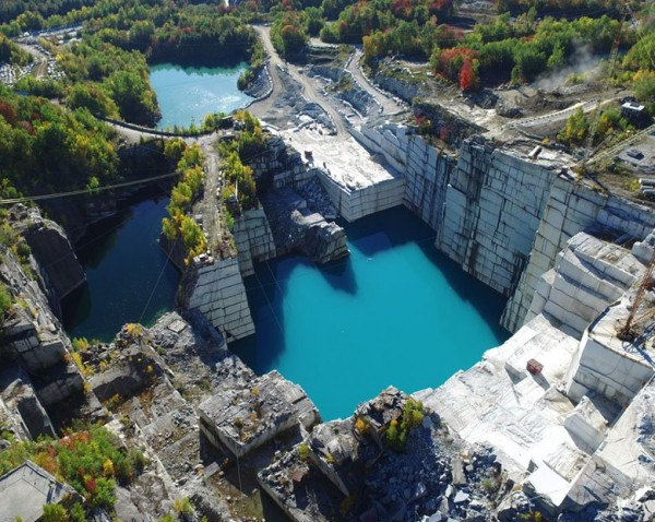 Largest granite quarry in the world