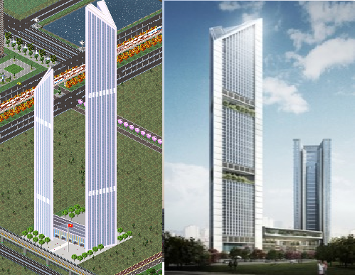 As well as providing a new headquarters for VietinBank, one of Vietnam's largest banking groups, the 300,000-square-metre mixed use scheme includes a range of leisure facilities. The taller tower, at 68-storeys, will provide an energy-efficient new headquarters for the Bank, while the second, 48-storey tower will house a five-star hotel, spa and serviced apartments.