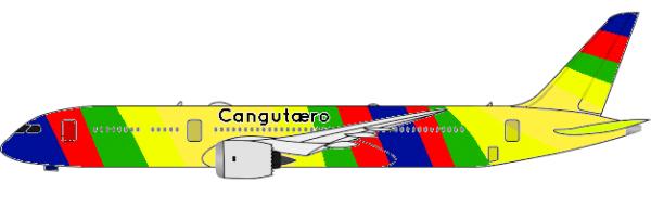 Cangutæro's Boeing 737, Used Since February 17, 1968, Cangutæro's Boeing 737- MAX, Used Since June 17, 2017 until January 19, 2019 due to airplane crash in other airlines, Cangutæro's Boeing 737- MAX was grounded until further notice.