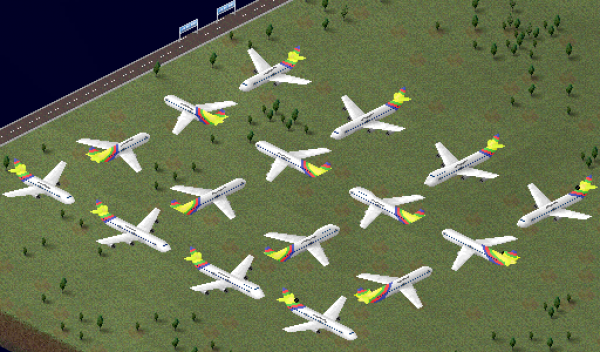 Current Planes That I Made.