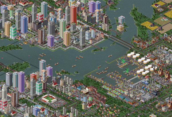Itoikee City, harbor and downtown, by mdk_813