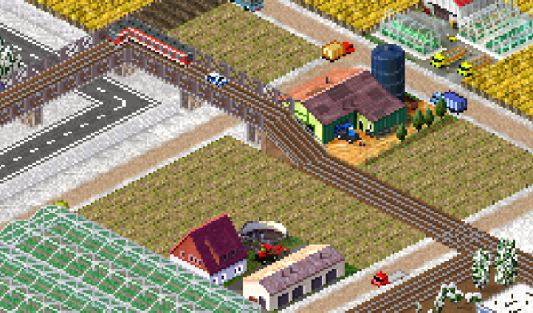 BTW I edited the train tracks so they can be elevated so they don't intefare with the road below.