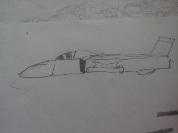First plane drawing ( ı dont know what is it)