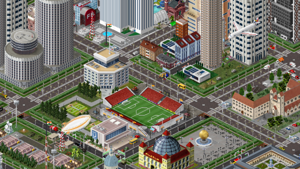 Towen central stadium