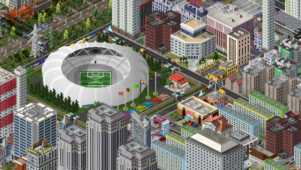 Golden boot stadium